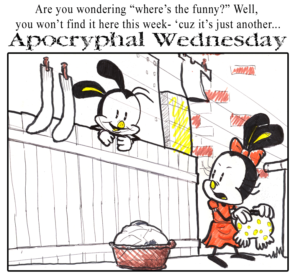 Apochryphal Wednesdays #5